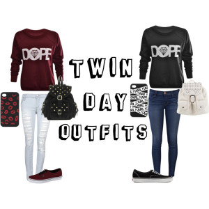 Twin Day Outfits