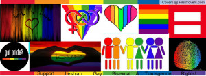 Support lgbt Profile Facebook Covers