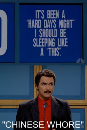 SNL Jeopardy - Norm as Burt Reynolds