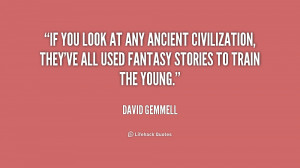 David Gemmell Quote