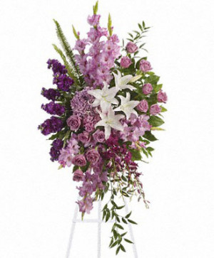Sacred Duty Spray Funeral Flowers All American Tribute