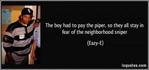 More Eazy-E Quotes