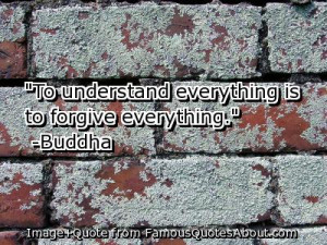 ... with another friend who mentioned that forgiveness heals the anger