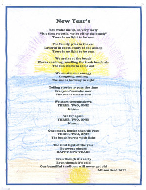 New Year's poem