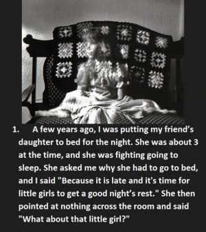 15 Creepy Things Babysitters Heard From Kids…