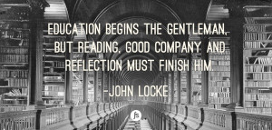 John locke, quotes, sayings, education, reading, great