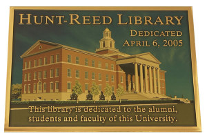 University Building Dedication Plaques