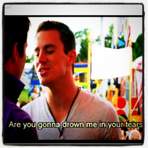 Channing Tatum Quotes About Love Yep, channing tatum in the