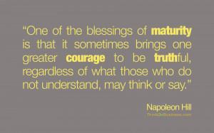 Maturity-NapoleonHill