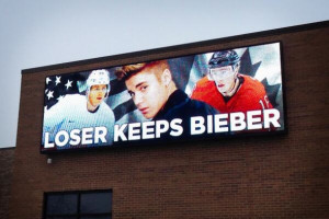 ... Canadian Prime Minster Stephen Harper did make a wager…but it was