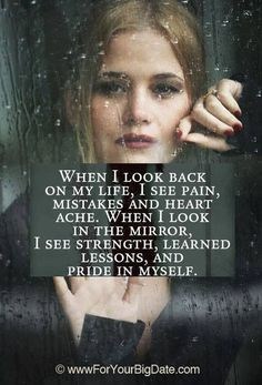 quotes about your past mirror quotes about self confidence quotes ...