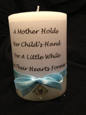 Stepmother Quotes For Mothers Day Quote candle, mother's day gift ...