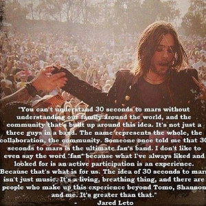 Quote by Jared Leto