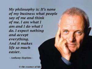 Anthony hopkins quote