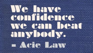 We have confidence ~ Acid Law.. Pro Basketball player~