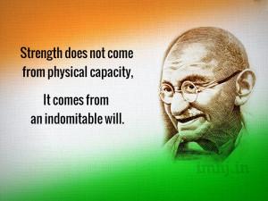 Gandhi Quotes Wallpaper, Gandhi Jayanti Wallpaper, Non Violence Day ...