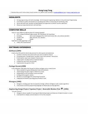 Question resume lab assistant following quote clearly