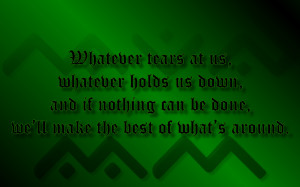 ... Band Song Lyric Quote in Text Image 1280x800 Pixels Oasis Quotes