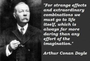 Arthur conan doyle famous quotes 4