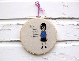 Bob's Burgers Tina Louise or Gene Belcher Quote by bertaMOMO