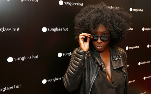 Laura Mvula attends the Sunglass Hut Unwrap Something Shady event in ...