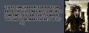 CC quote ♥