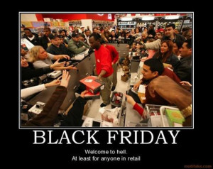 Return to Black Friday Madness – 25 Pics