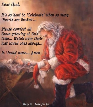 can t begin to imagine how hard this christmas will be for those ...