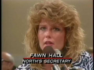Fawn Hall 2013 Secretary, fawn hall.