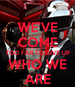 Daft Punk Quotes:
