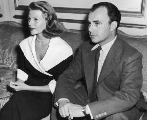 Rita Hayworth with third husband Prince Aly Khan 1951