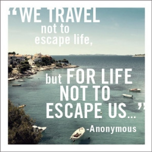 Travel quote in Quotes & other things
