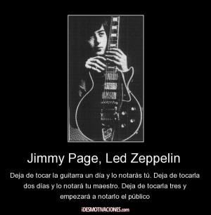Jimmy Page Autograph Led