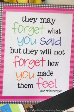 great quote for teachers to remember