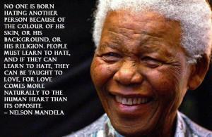 Nelson Mandela skin color