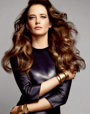 Eva Green, L'Oréal Professionnel for ELLE Russia, May 2015.(click the ...