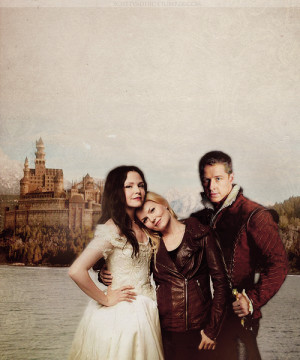 Once Upon A Time Snow, Charming & Emma