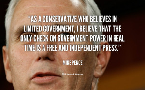 conservative government quote 2