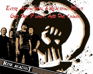 Rise Against + Quote-2 by DemonicSX