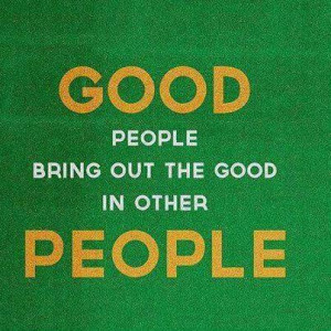 Good People Quotes and Sayings
