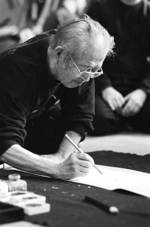 Masaaki Hatsumi Dojo Art
