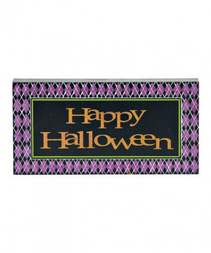 Take a look at this Halloween Quote Block Set by Transpac Imports on # ...