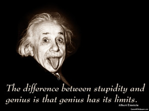 Image of funny einstein quotes