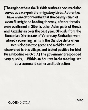 The region where the Turkish outbreak occurred also serves as a ...