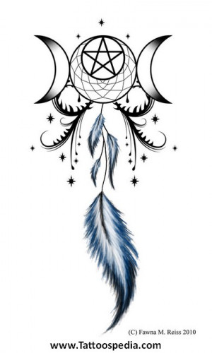 dream catcher tattoos with quotes