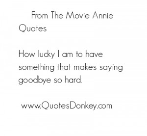 Quote From Annie