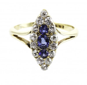 Pre-Owned Blue Sapphire Ring