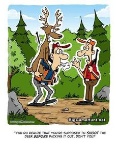 happy birthday deer hunter | hunting cartoons graphics and comments ...