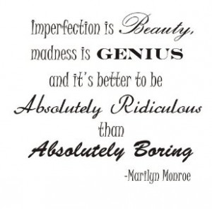 Marilyn Monroe Quote about Beauty