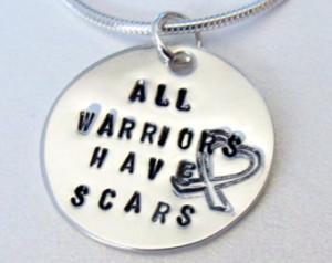 Cancer Survivor Necklace, Breast Cancer, Cancer Awareness, Warriors ...